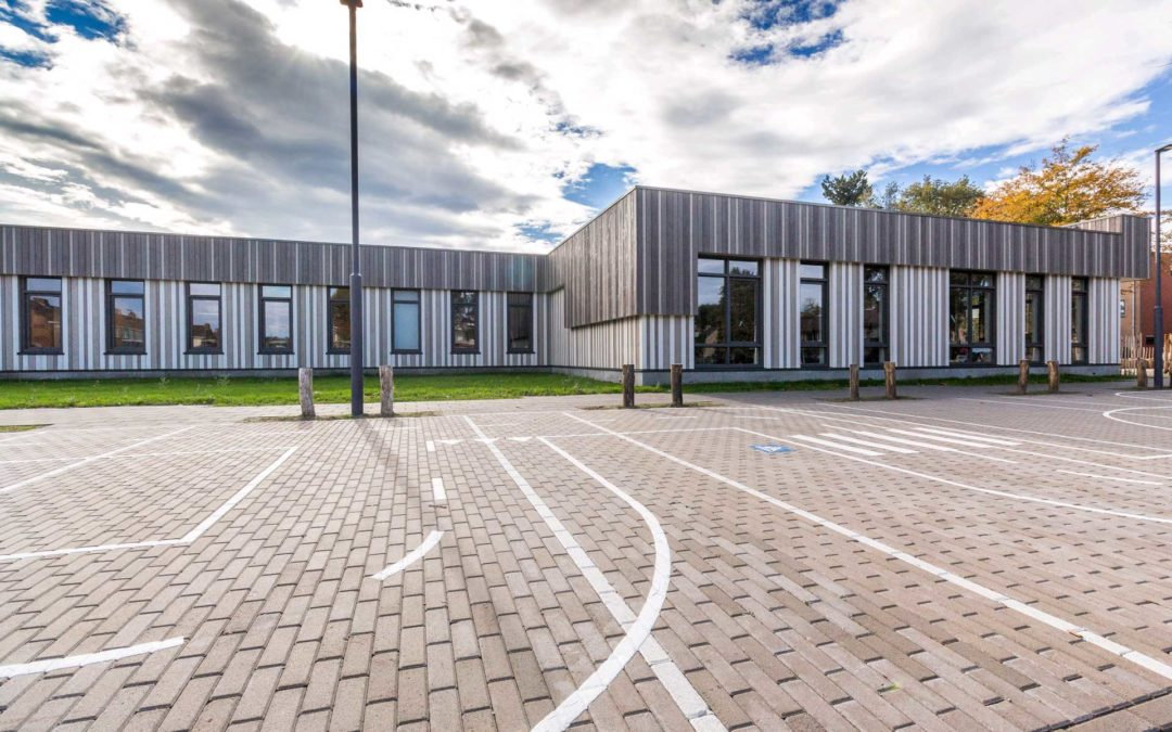 Schoolgebouw KPO SBO De Sponder en SO De Fakkel Roosendaal